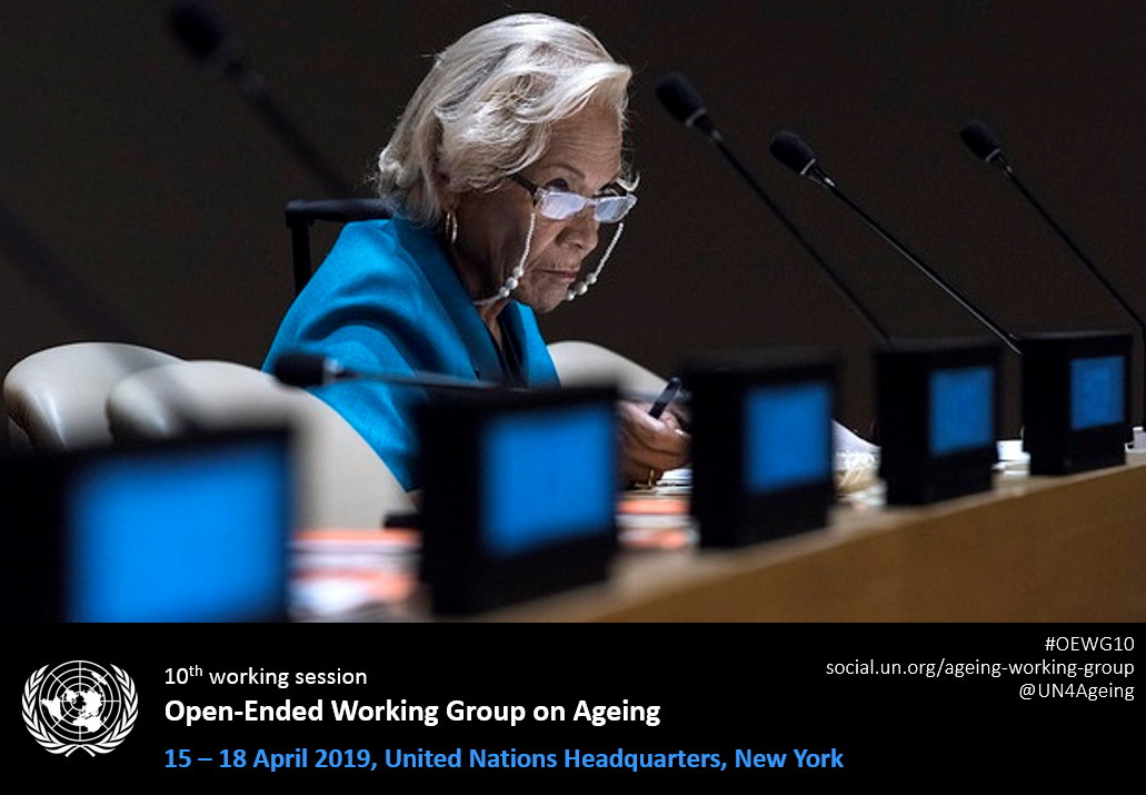 T Session of the United Nations Open-ended Working Group on strengthening the protection of the human rights of older persons